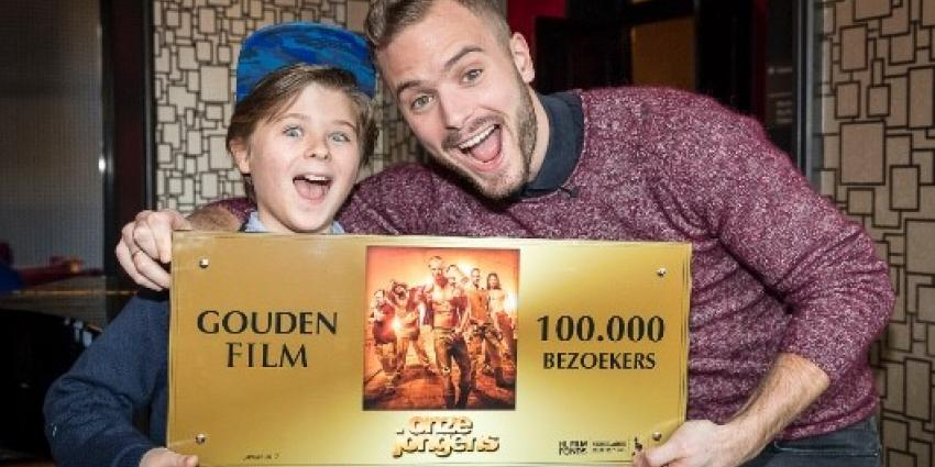 Onze jongens haalt 100.000 bezoekers