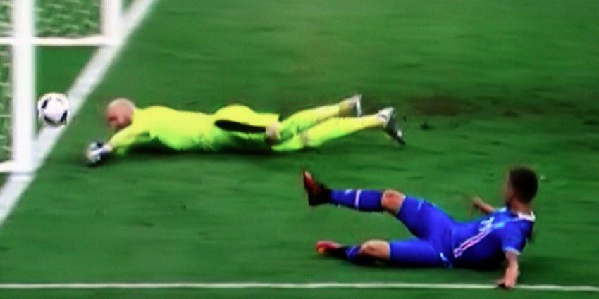 IJsland flikt het opnieuw nu in laatste seconde tegen Oostenrijk
