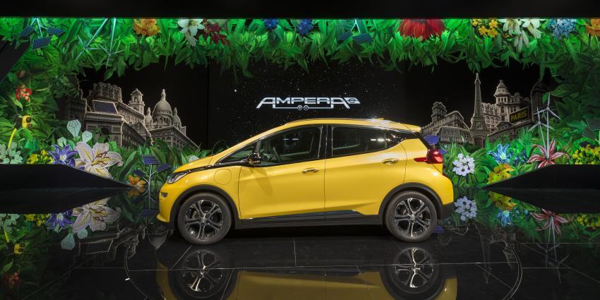 Opel Ampera-e met actieradius van meer dan 500 kilometer