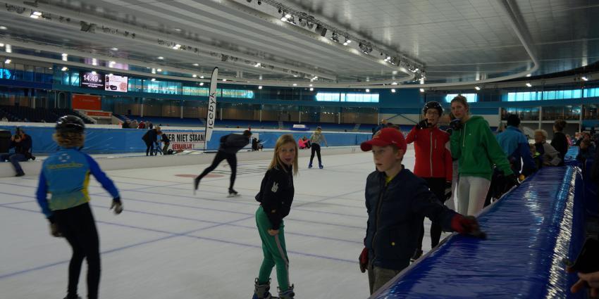 Open dag ijsstadion Thialf druk bezocht