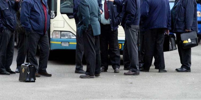 Busvervoer ligt plat voor 24 uur