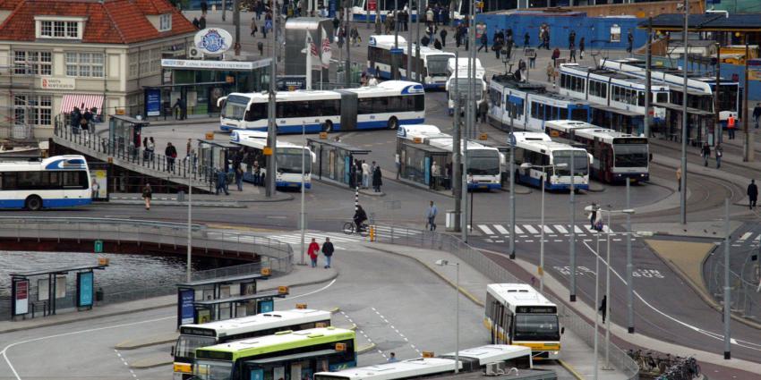 Openbaar vervoer in Utrecht en Amsterdam plat door staking