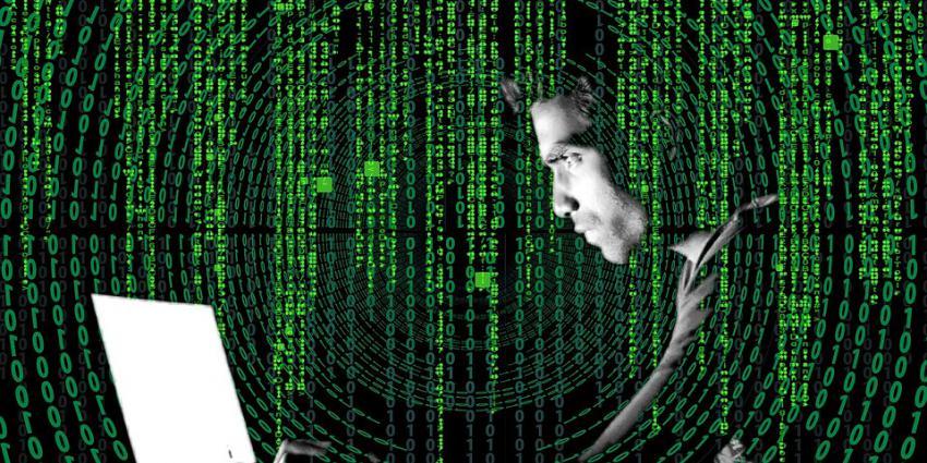 man -  laptop - crypto