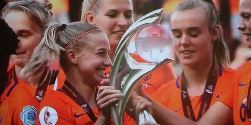 Huldiging Oranje Leeuwinnen maandag in Utrecht