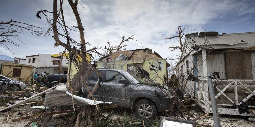 Nederland steunt met 550 miljoen euro wederopbouw Sint Maarten
