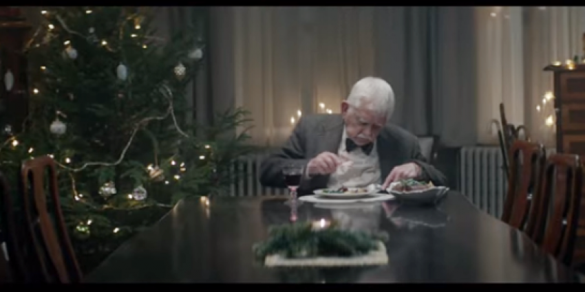 Opvallende kerstboodschap van Duitse supermarkt