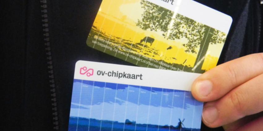 Geen m/v aanduiding meer op nieuwe OV-chipkaart