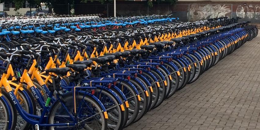 OV-fiets neemt in populariteit toe