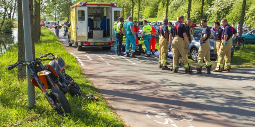 Man (24) komt om bij ongeval met motor