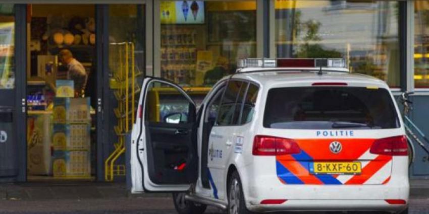 Politie houdt man aan na gewapende overval tankstation