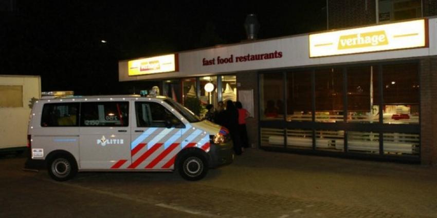 Foto overval snackbar Vlaardingen | Flashphoto | www.flashphoto.nl