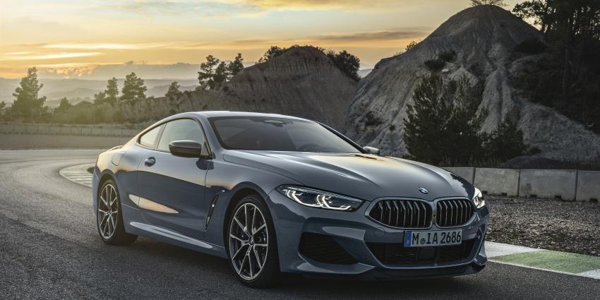 De geheel nieuwe BMW 8 Serie Coupé