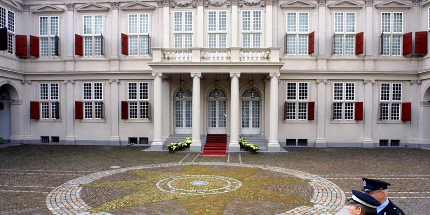 Veel belangstelling voor paleis Noordeinde
