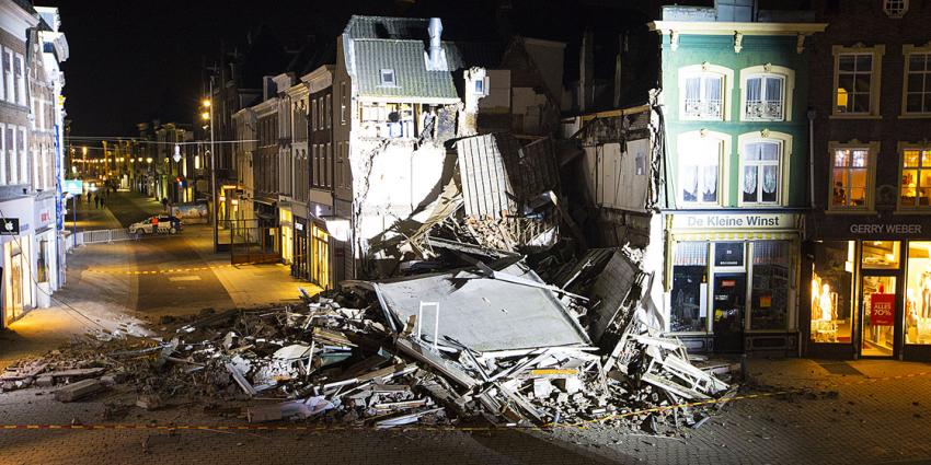 Geen gewonden bij ingestort gebouw Den Bosch