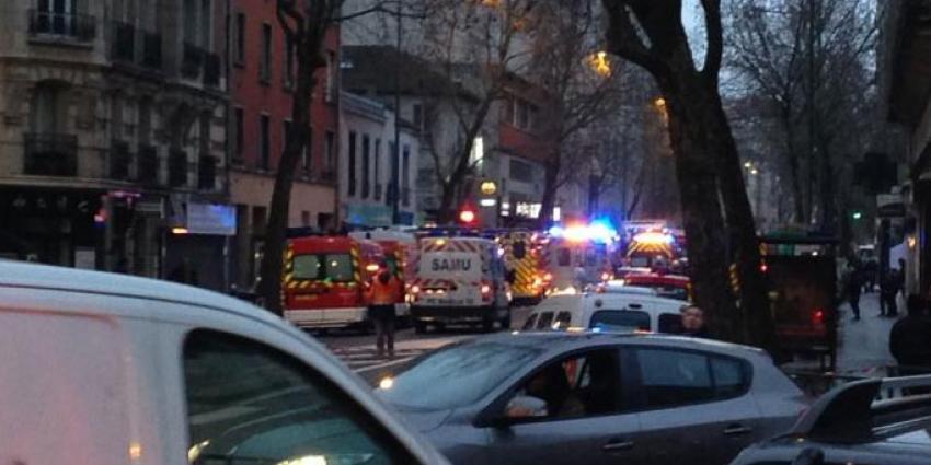 Schotenwisseling en gijzeling tijdens klopjacht in Frankrijk