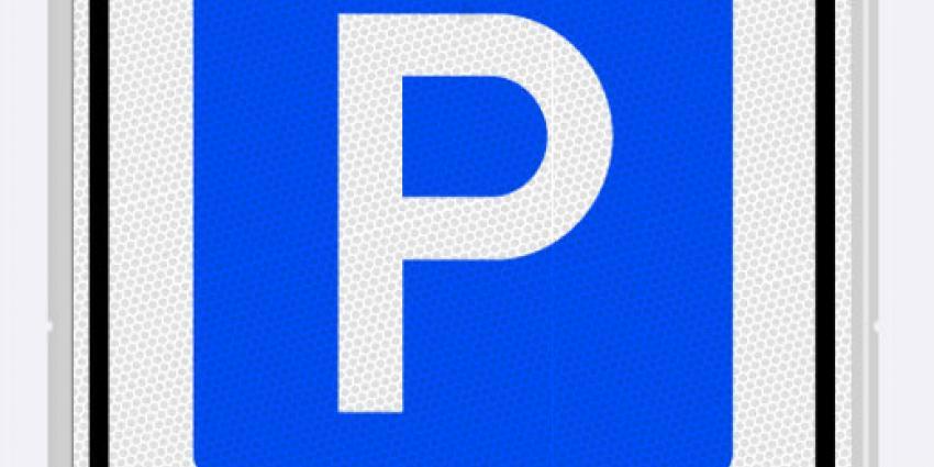 Foto van bord parkeerschijfzone | BON