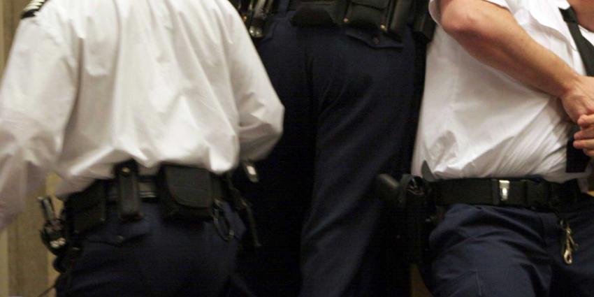 Drie aanhoudingen vanwege vechtpartij in Rechtbank