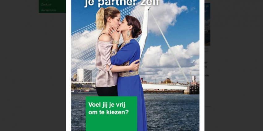 Campagne om zelf je partner te kunnen kiezen