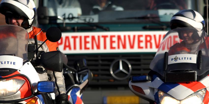 Foto van patientvervoer   Archief EHF