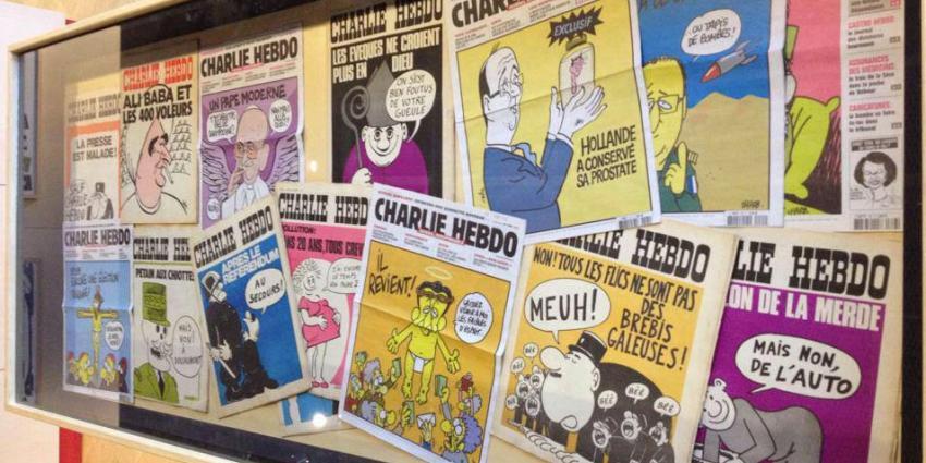 Charlie Hebdo in mum van tijd uitverkocht
