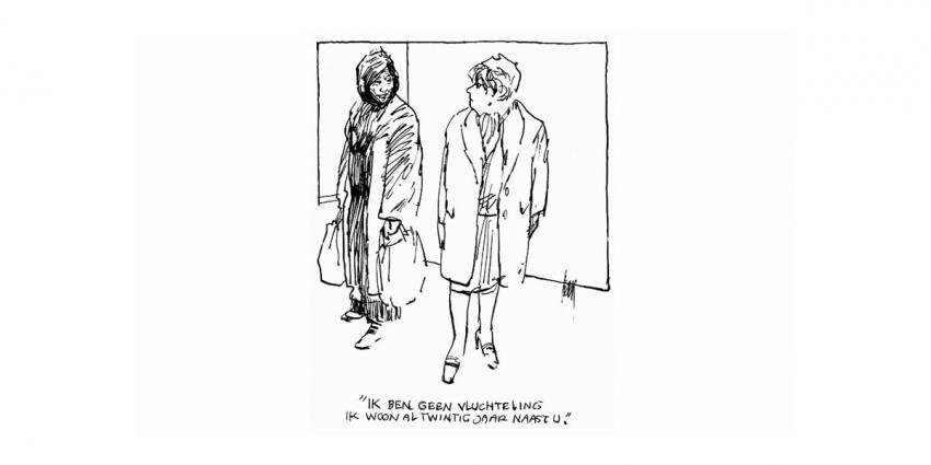 Politiek tekenaar Peter van Straaten op 81-jarige leeftijd overleden