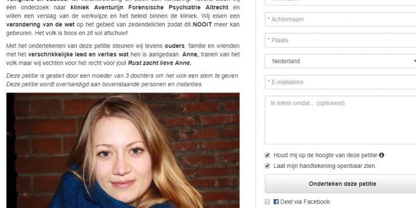 Petitie massaal getekend na vondst Anne Faber