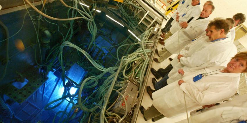 foto van kernreactor Petten   Frank van den Berg