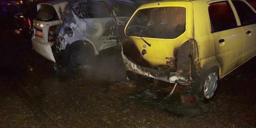 Opnieuw autobrand in Emmer Compascuum, politie vermoedt brandstichting