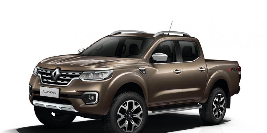 De ALASKAN pick-up van Renault