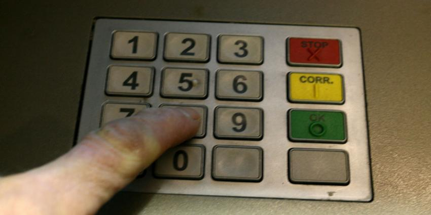toetsenbord pinautomaat