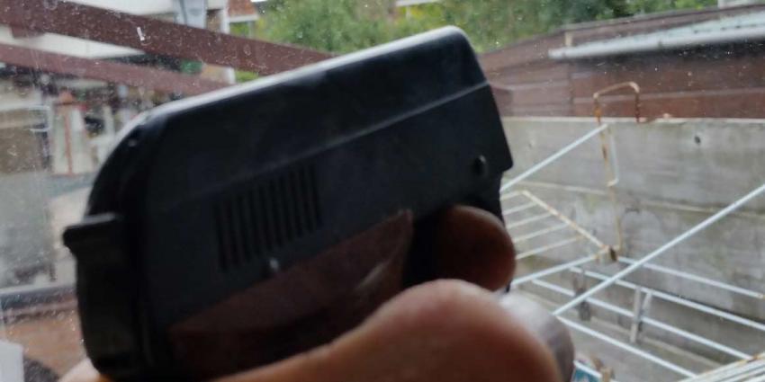 Man aangehouden na 'schietincident'