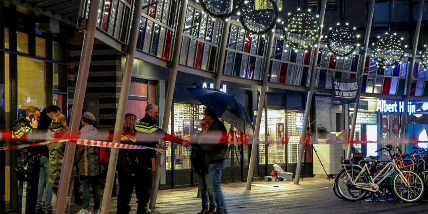 Belgiëplein Amsterdam afgezet na plofkraak