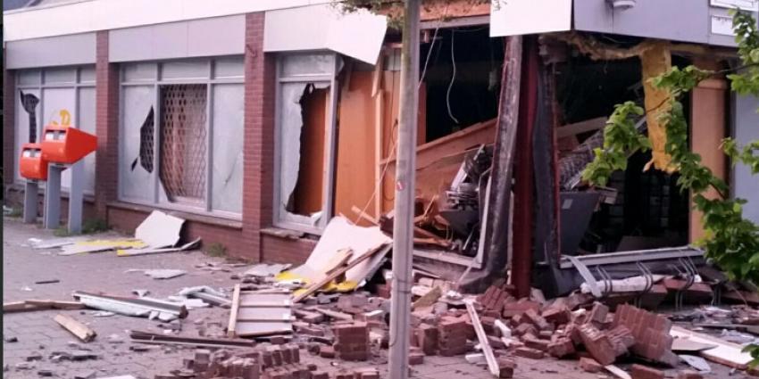 Ravage na plofkraak in Nieuwkoop