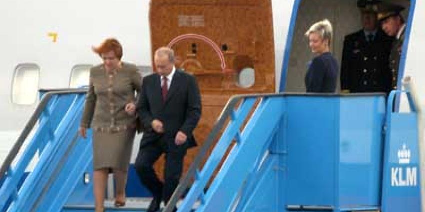 Foto van Vladimir en Ljoedmila Poetin | Archief EHF