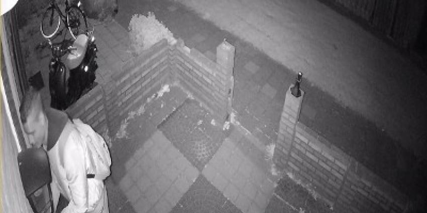Mogelijke dader brandstichting  Maastricht op camerabeeld
