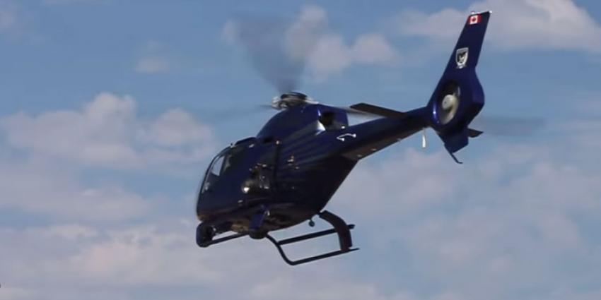 Bemanning politiehelikopter deelt seksgesprek met omgeving