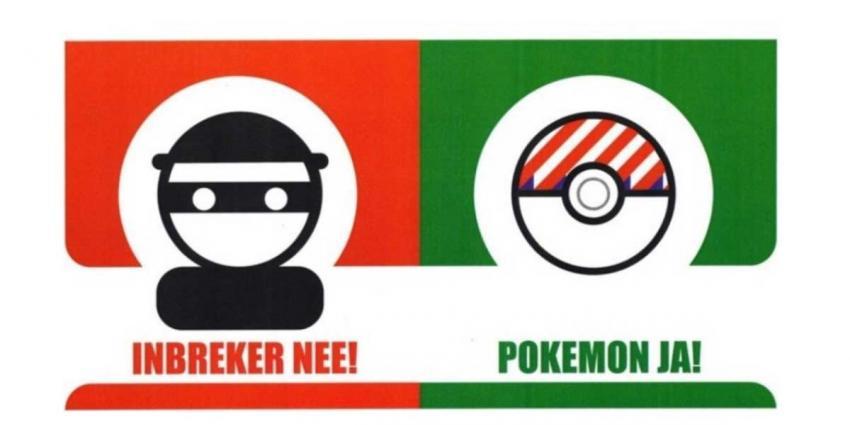 Politie en gemeente roepen Pokémon Go-spelers op te helpen boeven vangen