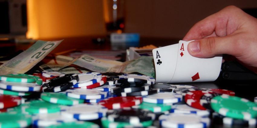 Vuurwapen leidt naar illegaal pokertoernooi