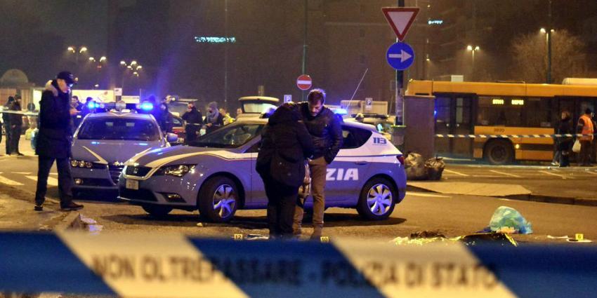Terreurverdachte Anis Amri is doodgeschoten tijdens vuurgevecht met politie in een dorpje bij Milaan