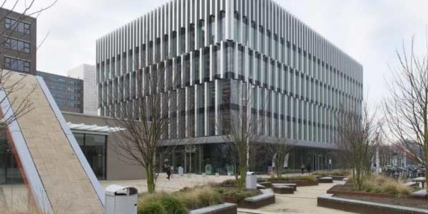 Erasmus University Rotterdam dicht om instortingsgevaar