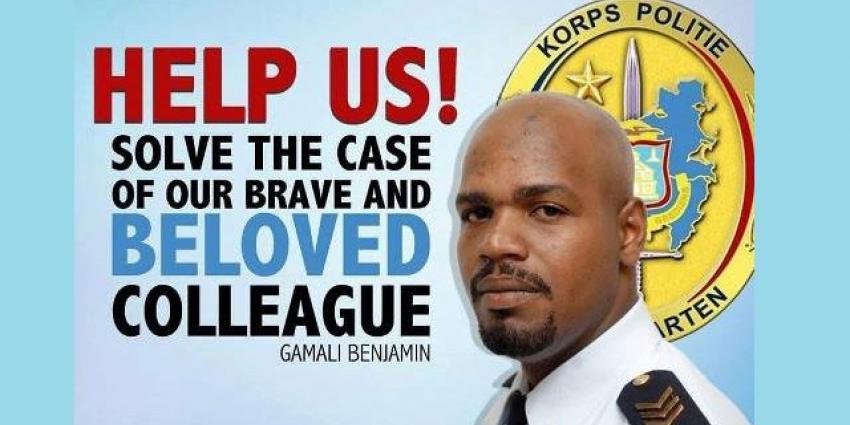 Politieman gedood op Sint Maarten