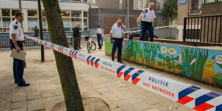 Foto van politie afzetlint steekpartij | Flashphoto | www.flashphoto.nl
