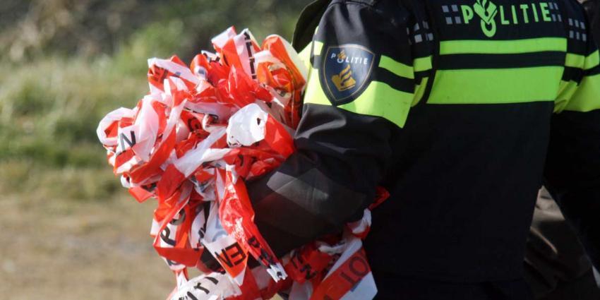 politie, uniform, afzetlint