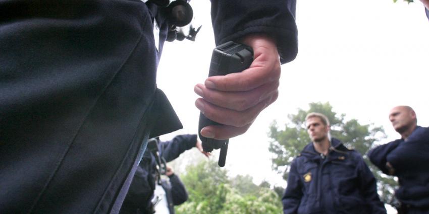 Foto van recherche team politie | Archief EHF
