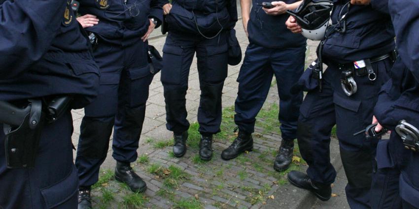Foto van politie arrestatie | Archief EHF