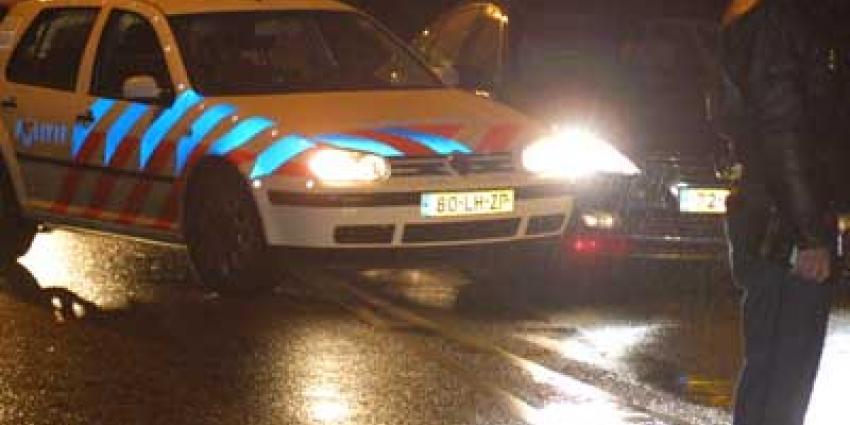 Agenten schieten bij achtervolging na rammen politieauto