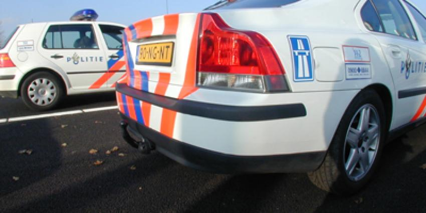 Politie lost schoten op A20