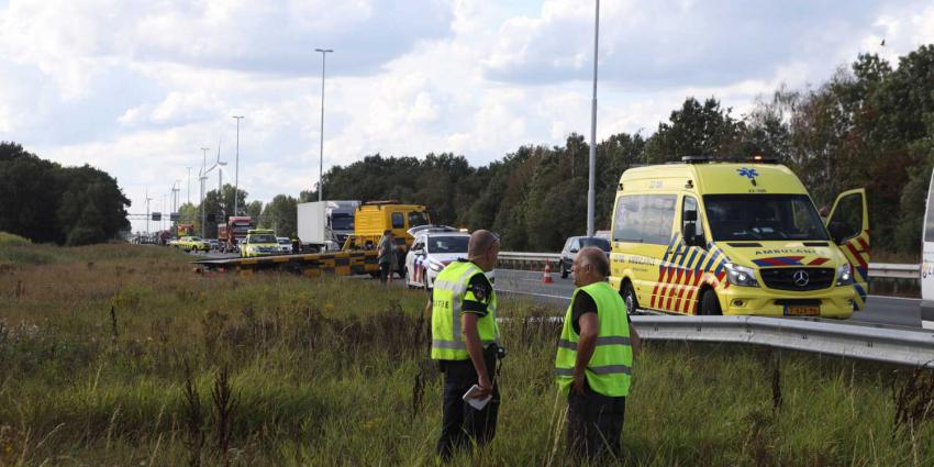 politie-berm-snelweg