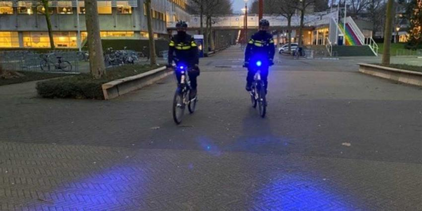 politie-biker-blauw-licht