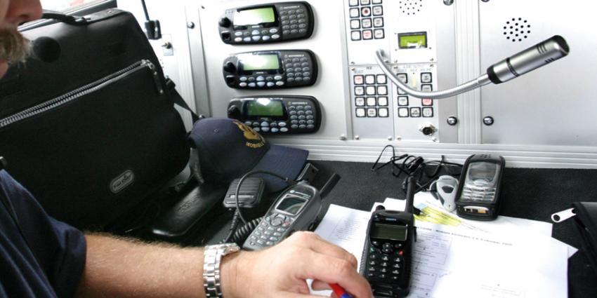 Foto van C2000 communicatie politie | Archief EHF